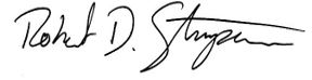 Robert Stimpson Signature